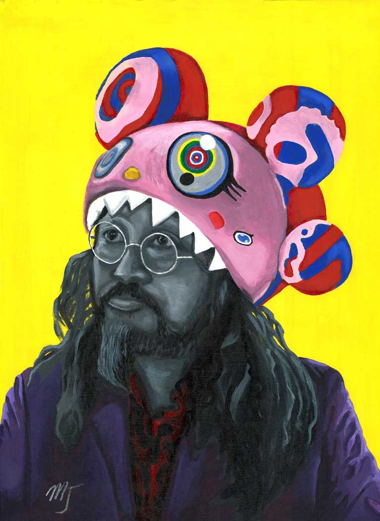 Master Murakami. Takashi Murakami is a master artist and is truly inspirational.